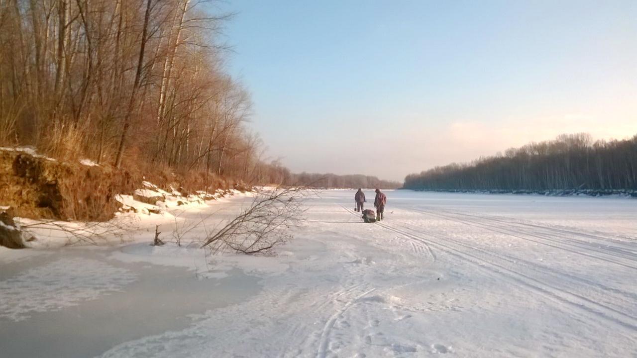 путь на рыбалку